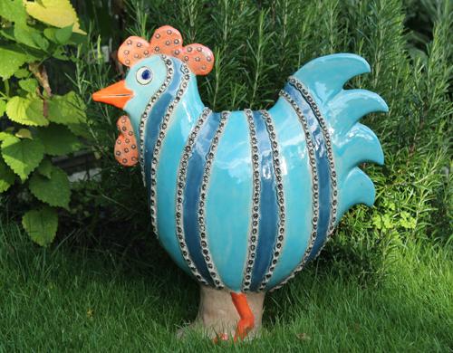 keramik figurer til haven